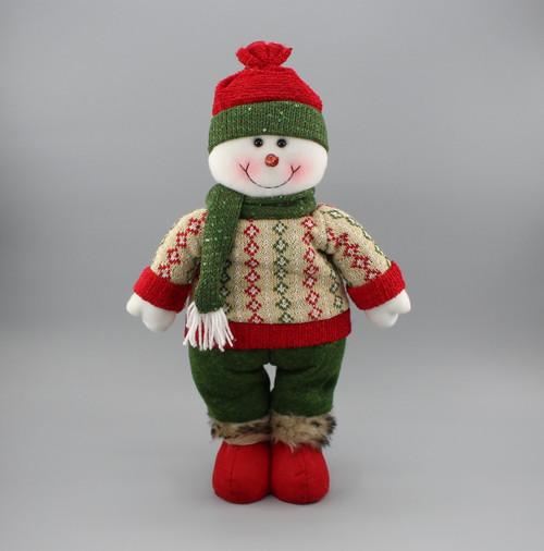 """[52957] 17""""Standing snowman"""