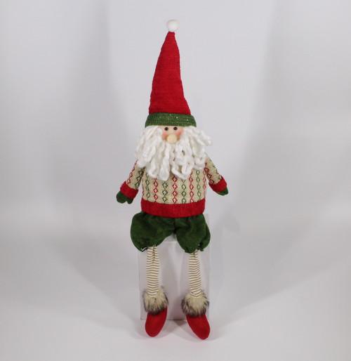 """[52962] 25""""Sitting Santa"""