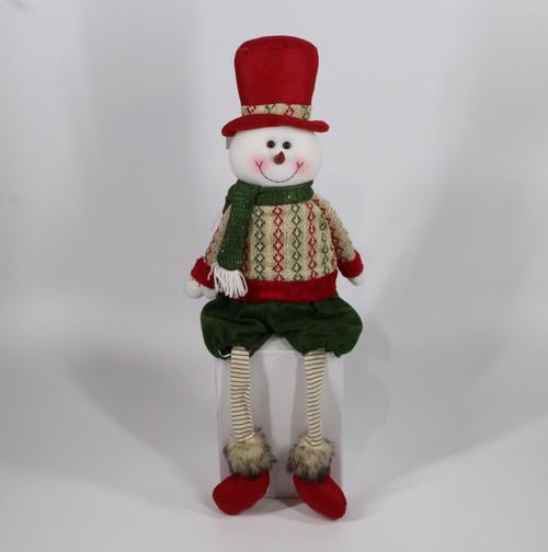 "[52963] 25""Sitting snowman"