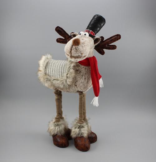 "[52969] 19""Standing moose"