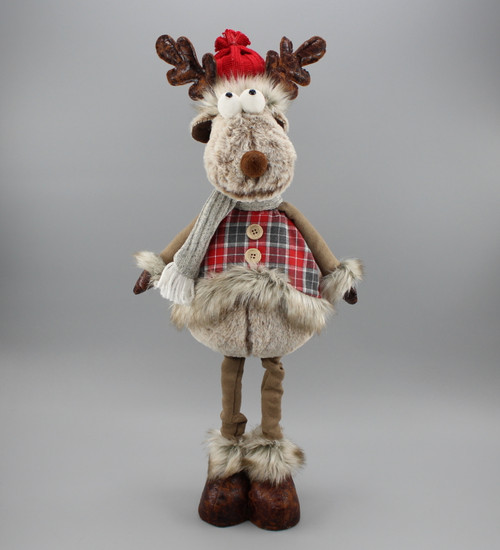 "[52970] 21""Standing moose"