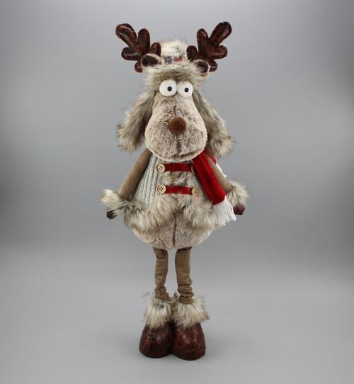 "[52971] 21""Standing moose"