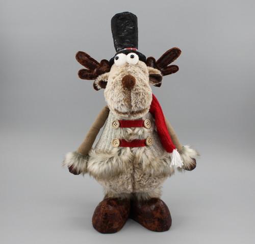 "[52973] 14.5""Standing moose"