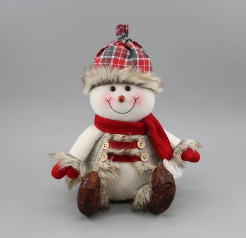 "[52987] 10.25""Sitting snowman"