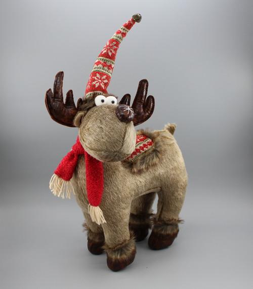 """[53013] 20.8""""Christmas moose"""