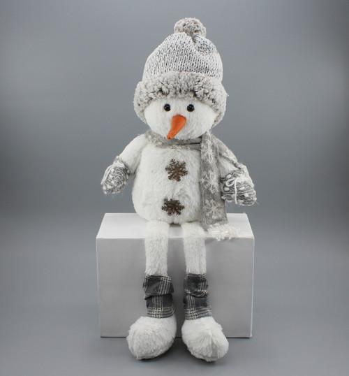 "[53016] 25""Sitting snowman"