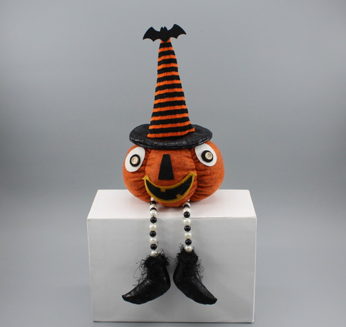 "[53024] 18""Halloween pumpkin with bead legs"