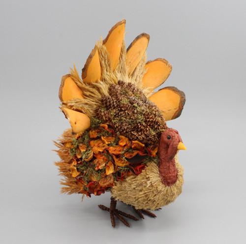"[53039] 12.5""Thanksgiving sitting turkey"