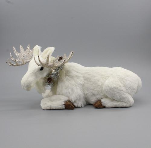 """[53046] 16.5""""Christmas moose"""