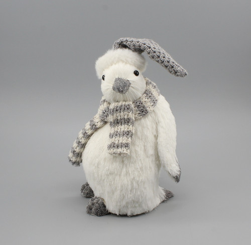 """[53057] 9.8""""Christmas penguin"""