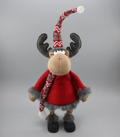 """[53080] 26.5""""Christmas moose"""