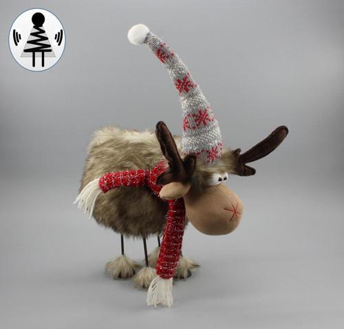 """[53082] 15.75""""Christmas moose"""