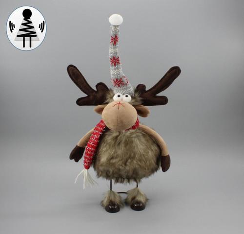 """[53083] 19.5""""Christmas moose"""