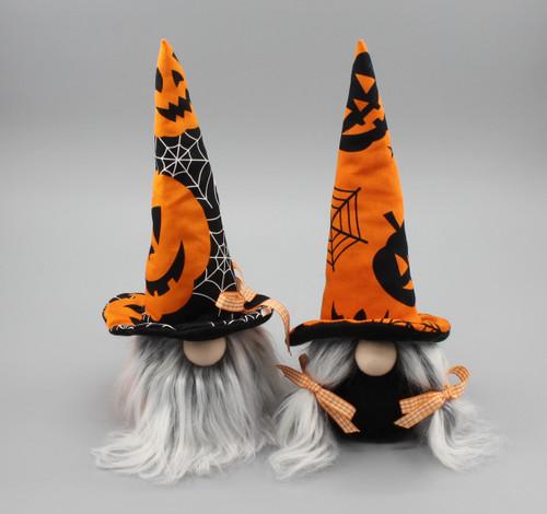 "[53109] 17""Halloween gnome set/2"