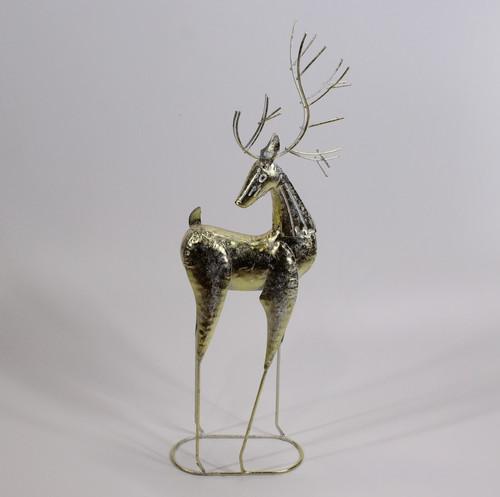 """[53117] 20""""metal reindeer"""