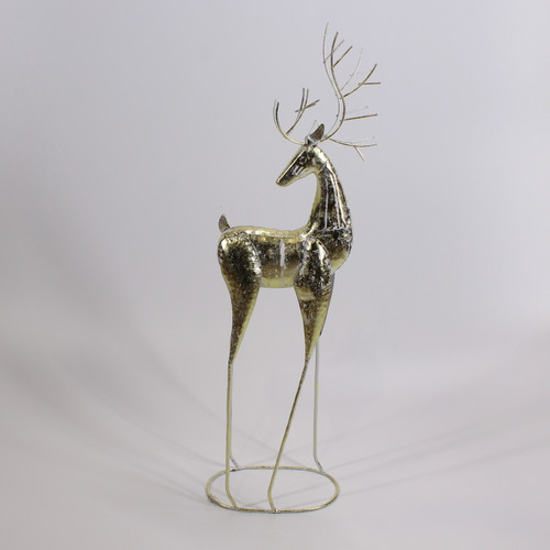 """[53118] 25""""metal reindeer"""