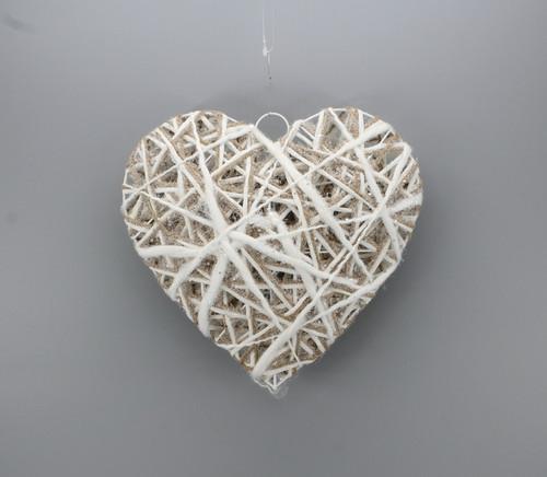 "[53126] 9.85""Christmas heart ornament"