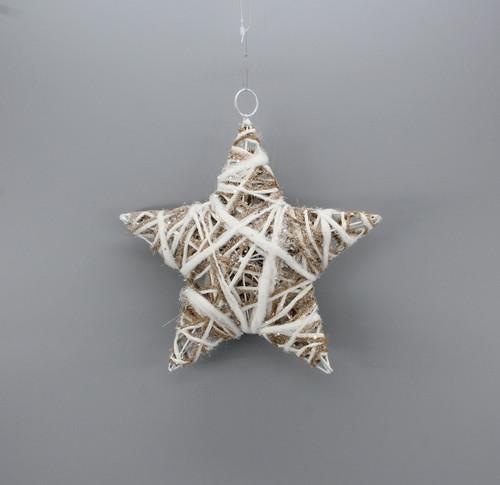 "[53128] 9.85""Christmas star ornament"