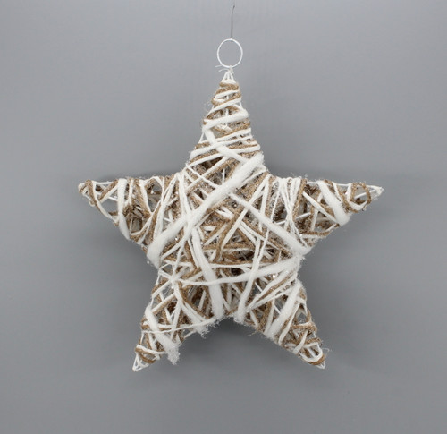 "[53129] 11.8""Christmas star ornament"