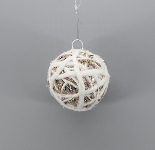 """[53130] 3.95""""Christmas ball ornament"""