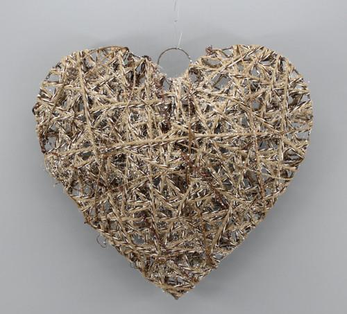 "[53140] 11.8""Christmas heart ornament"