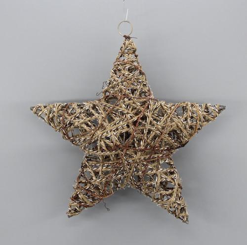 "[53142] 11.8""Christmas star ornament"