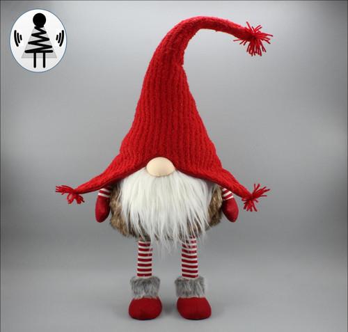 """[52652] 33.5""""standing Christmas gnome"""