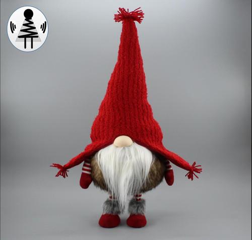 """[52653] 23.6""""standing Christmas gnome"""