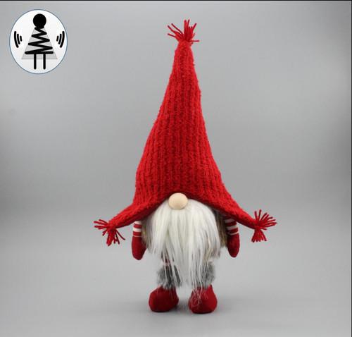 """[52654] 19.6""""standing Christmas gnome"""