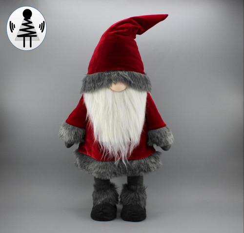 """[52655] 25""""standing Christmas gnome"""