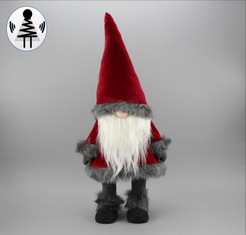 """[52656] 34""""standing Christmas gnome"""
