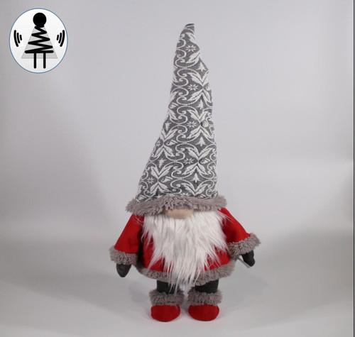"""[52661] 35.5""""standing Christmas gnome"""