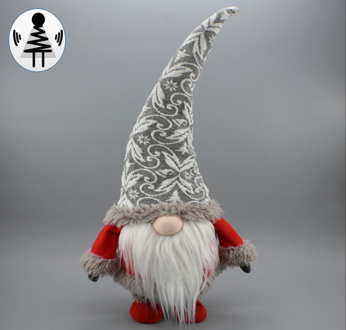 """[52663] 20.8""""standing Christmas gnome"""