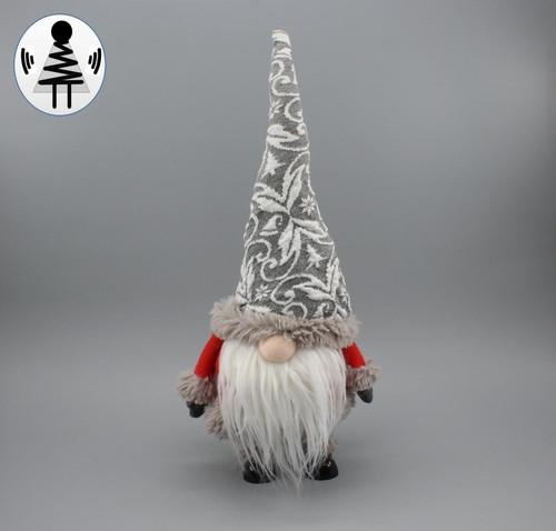 """[52664] 16.5""""standing Christmas gnome"""
