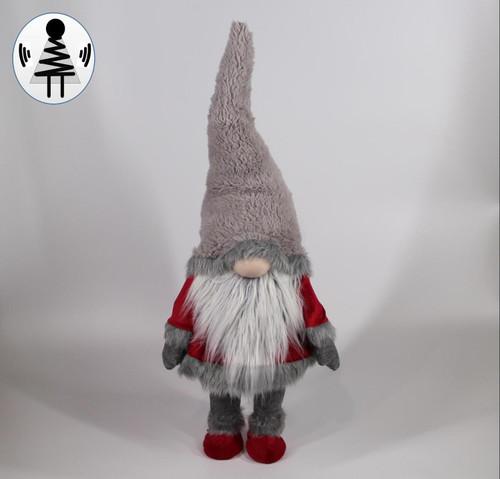 """[52665] 35.5""""standing Christmas gnome"""