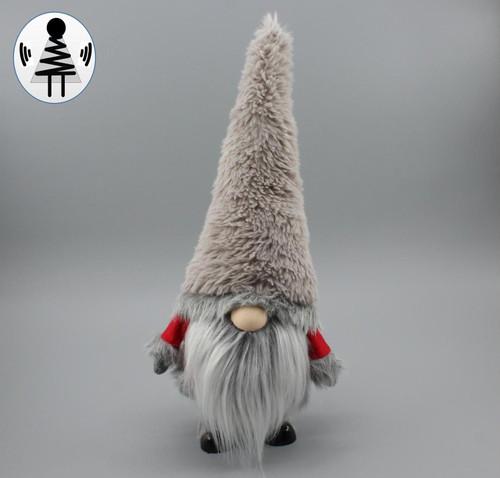"""[52668] 16.5""""standing Christmas gnome"""