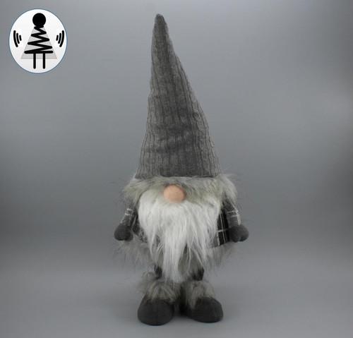 """[52675] 22.8""""standing Christmas gnome"""