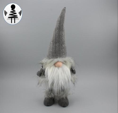 """[52676] 17""""standing Christmas gnome"""