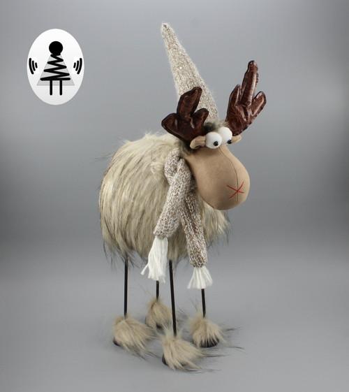 """[52681] 23.5""""Christmas moose"""