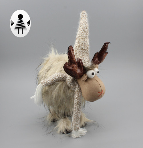 """[52682] 15""""Christmas moose"""