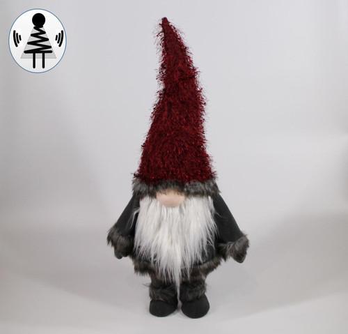 """[52685] 35""""standing Christmas gnome"""