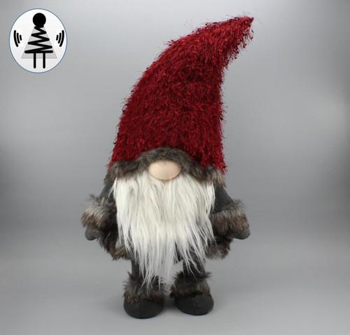 """[52686] 30""""standing Christmas gnome"""