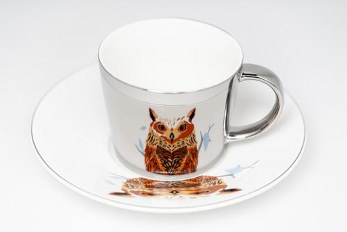 [52371] Porcelain mirror cup (230cc)