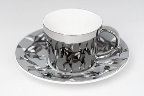 [52374] Porcelain mirror cup (230cc)