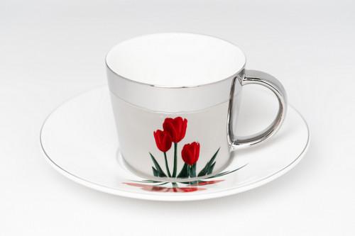 [52375] Porcelain mirror cup (230cc)