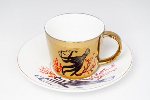 [52376] Porcelain mirror cup (230cc)