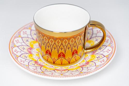[52377] Porcelain mirror cup (230cc)
