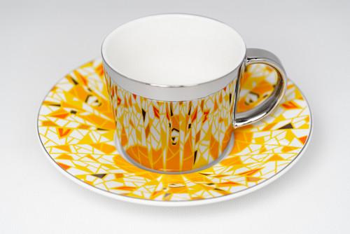 [52381] Porcelain mirror cup (230cc)