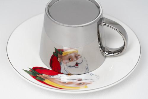 [52382] Porcelain mirror cup (230cc)