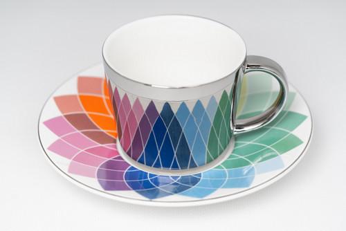 [52386] Porcelain mirror cup (230cc)